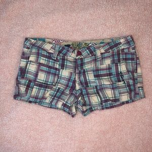 Pants - Plaid Shorts